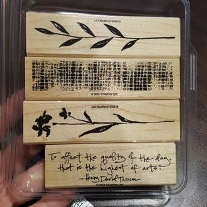 Art of life stamp set